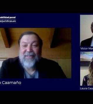 Francisco Caamaño habla sobre responsabilidad penal de las personas jurídicas